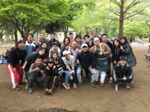 ランスイム&BBQ2019早春 @ 小金井公園BBQ場